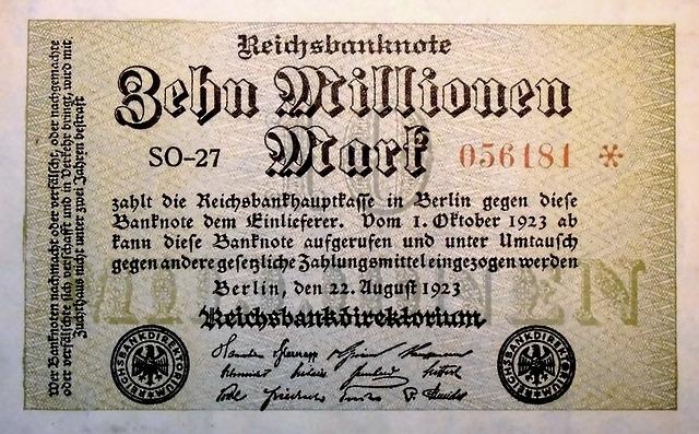 inflationsgeld 1143187 640 - Lehren aus der Weltwirtschaftskrise 1929 - Teil 3