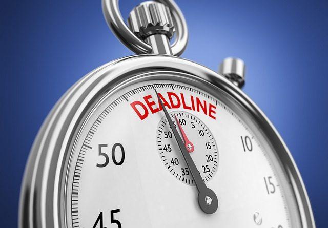 deadline 2636259 640 640x445 - Der Countdown für den Crash läuft